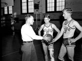 1940 Wilson High School Basketball Team Players Leo Kampman and Odel Benton - Portsmouth, Virginia