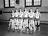 1940 Wilson High School Basketball Team - Portsmouth, Virginia